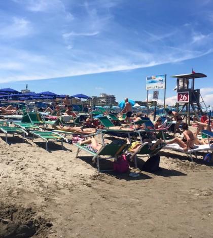Spiaggia, litorale, mare, estate