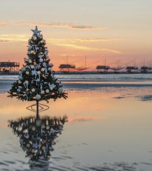Immagini Natale Mare.Natale Al Mare La Spiaggia Di Sottomarina Set Fotografico
