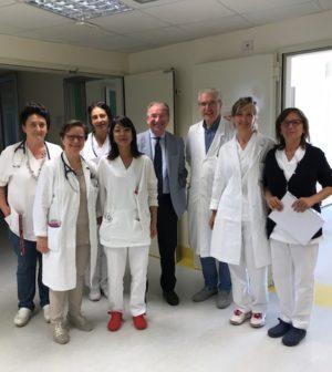Giorgio Cavallarin con DG e d équipe