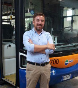 minibus Chioggia_Assessore Daniele Stecco