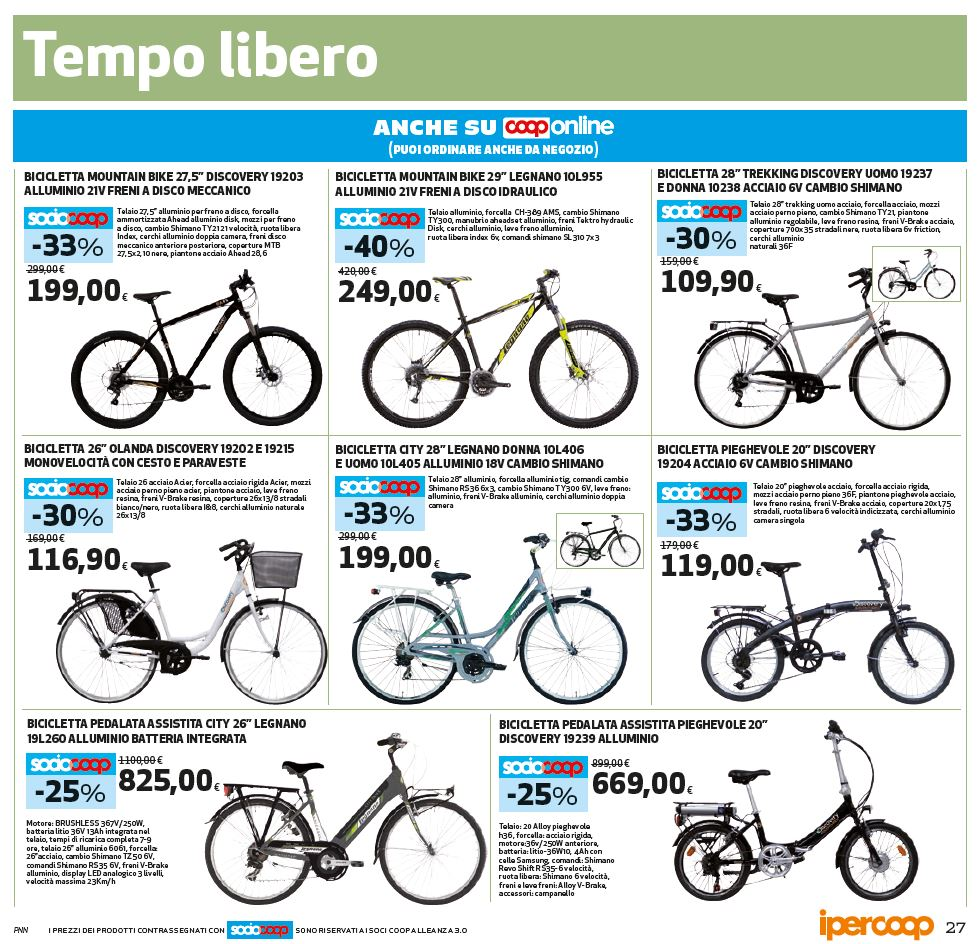 bici elettriche chioggia convenienti