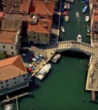 ponte di vigo dall'alto