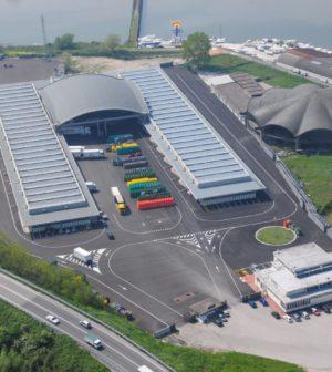 foto aerea Chioggia Ortomercato