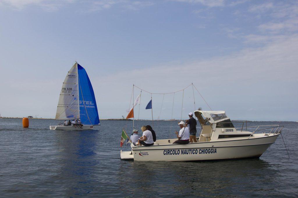 Arrivo Adriatica Trofeo ChioggiaVela